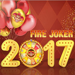 500 Free Spins på Fire Joker