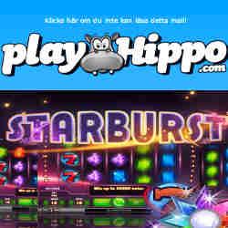 500 gratis spins hos Playhippo i helgen