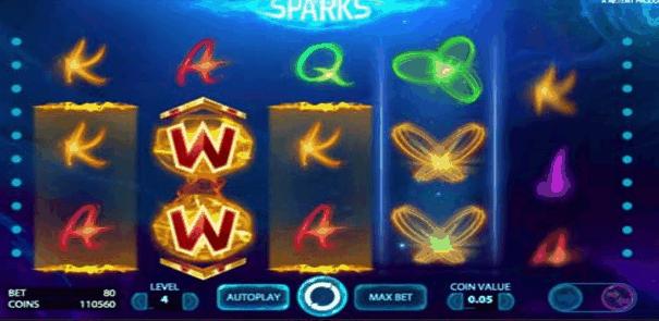 Sparks videoslot