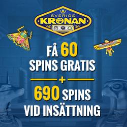 Mer än 500 free spins