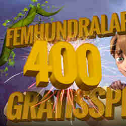 500 free spins hos SverigeCasino
